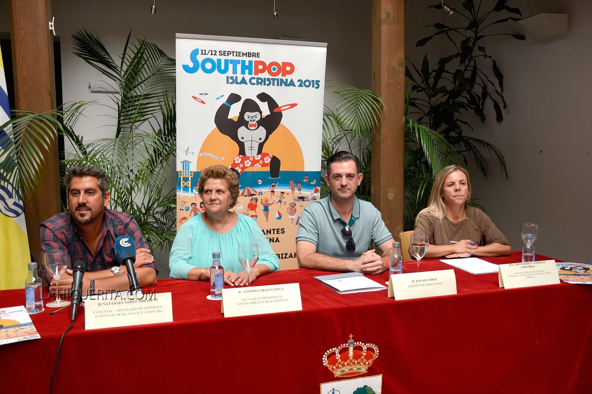 Presentación Southpop 2015