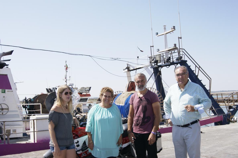 La Lonja isleña recibe la visita de una productora de televisión turca