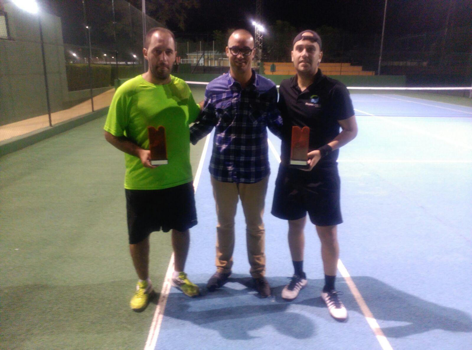 Francisco Palacios Campeón del 2º Torneo del Ranking de Tenis de Gibraleón