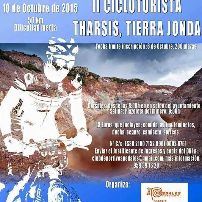 II Cicloturista Tharsis, Tierra Jonda