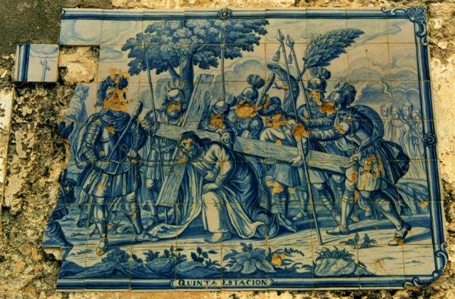El ayuntamiento de La Redondela custodiará un Vía Crucis del Siglo XVIII