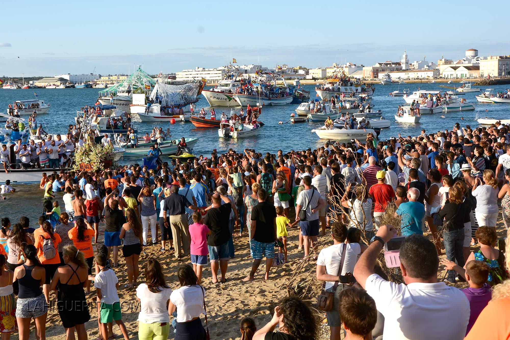 Desembarco de la Virgen del Mar 2015