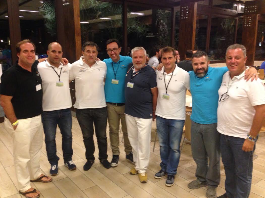 Representantes de los VI Juegos Europeos de Policías y Bomberos Huelva 2016 Visitan Salou en Busca de Alianzas