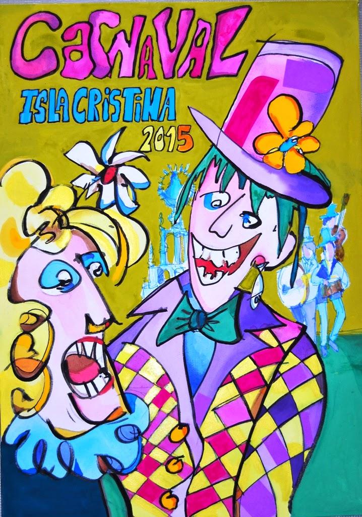 """Este viernes se hará público el fallo del jurado para el Cartel """"Carnaval de Isla Cristina 2016"""""""