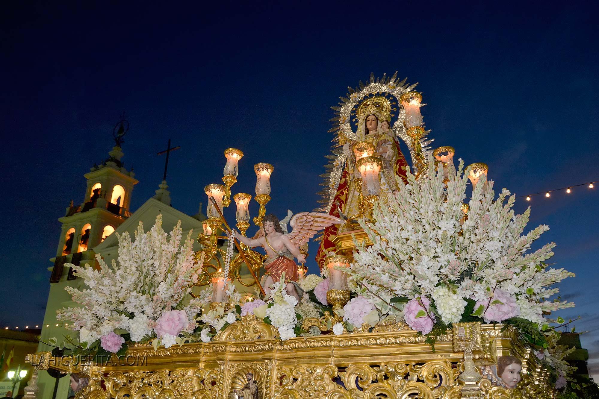 Procesión de la Virgen del Rosario de Isla Cristina 2015