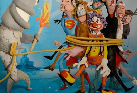Obras participantes en el concurso de carteles del Carnaval de Isla Cristina 2016