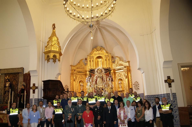 La Policía Local de Isla Cristina celebra la Misa de los Ángeles Custodios