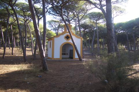 campamento pintado