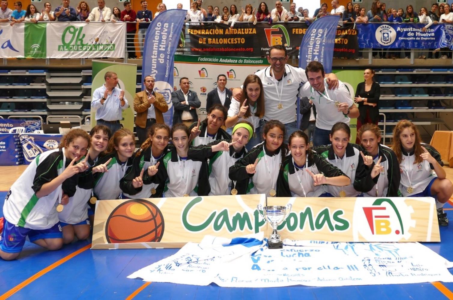 Huelva campeón del Campeonato de Andalucía de Selecciones Provinciales Infantiles Femeninas