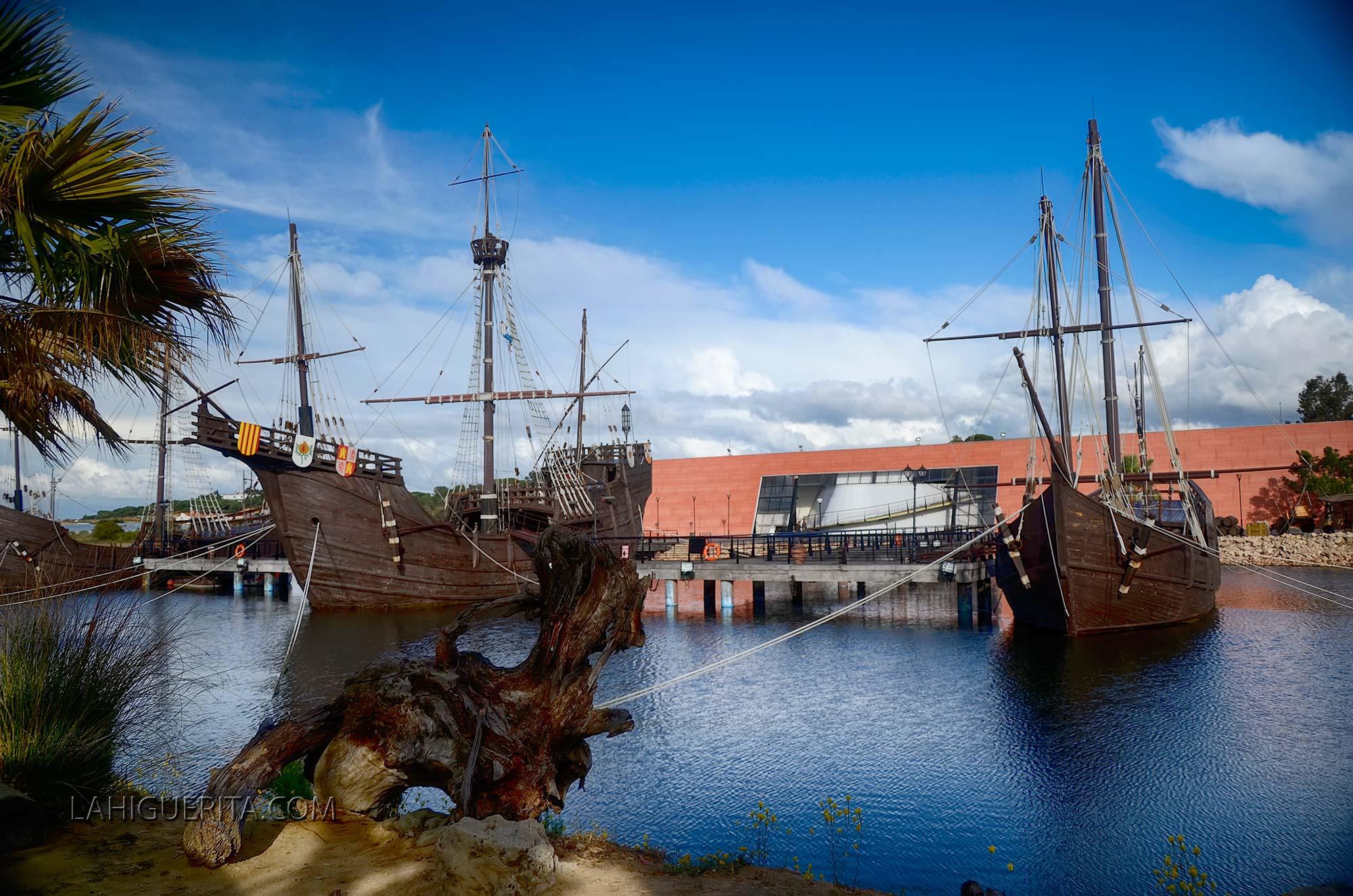 El Muelle de las Carabelas abre sus puertas para celebrar el 12 de octubre