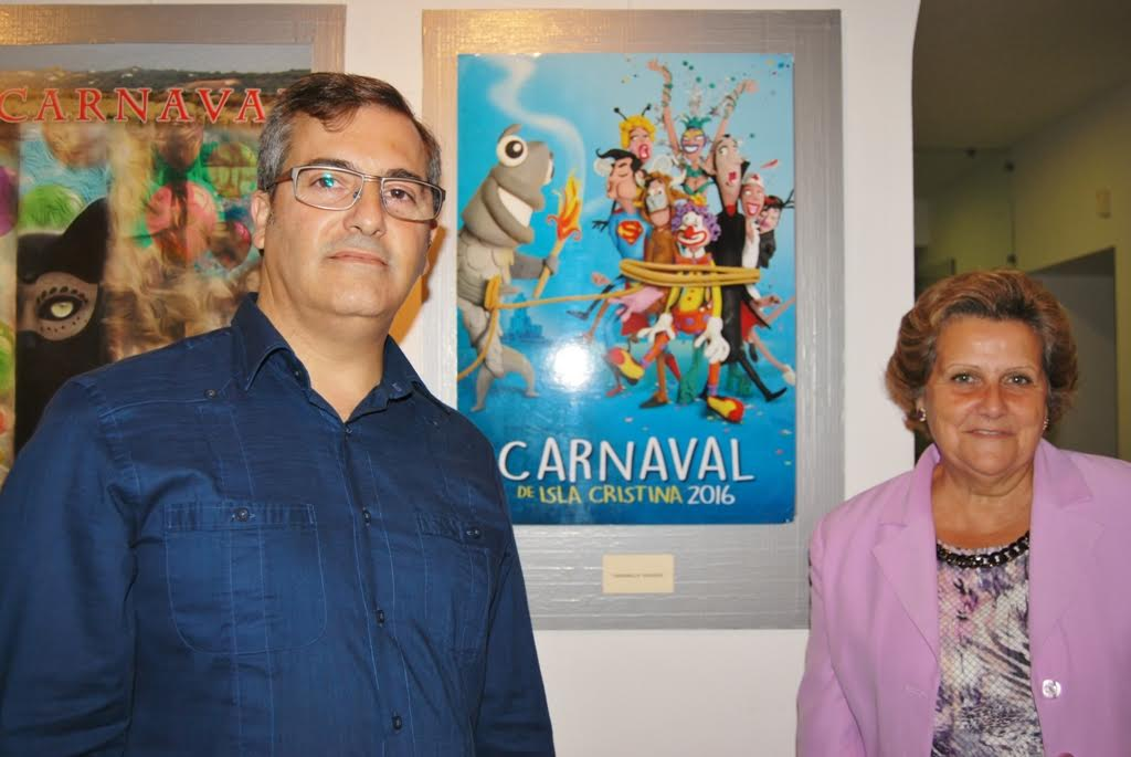Elegido el cartel anunciador de los carnavales de Isla Cristina 2016