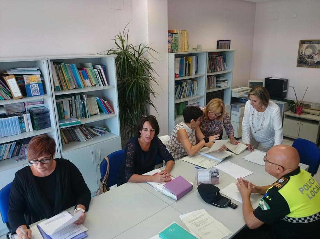 Celebrada en Isla Cristina la Comisión de Seguimiento sobre Violencia de Género