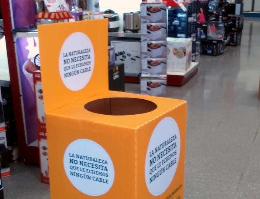 Campaña de Recogida de Pequeños Electrodomésticos en Isla Cristina