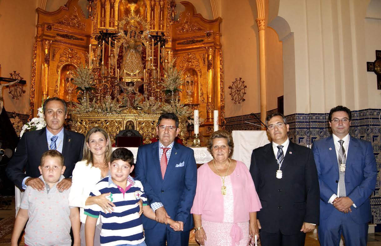 El isleño Rafael Salgado exalta a la Virgen del Rosario