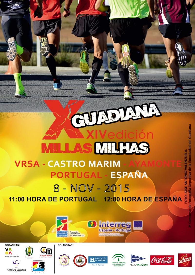 24ª X Millas del Guadiana une El Algarve y Andalucía
