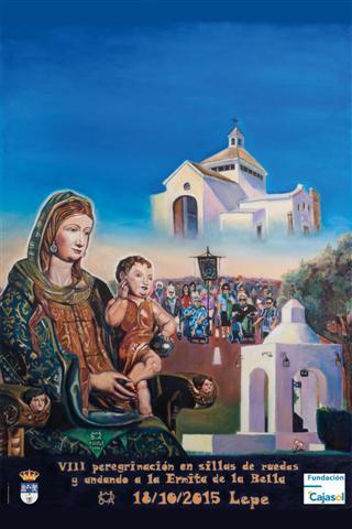 Programación de la VIII peregrinación en sillas de ruedas y andando a la Ermita de la Bella de Lepe