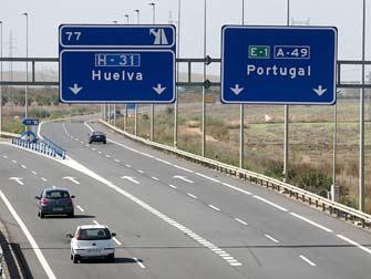 La DGT prevé 113.000 desplazamientos durante el puente en Huelva