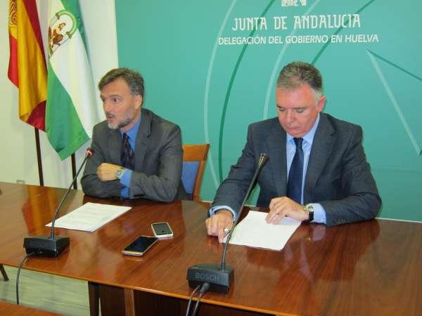 La provincia de Huelva recibirá un 7% del presupuesto total de la Junta