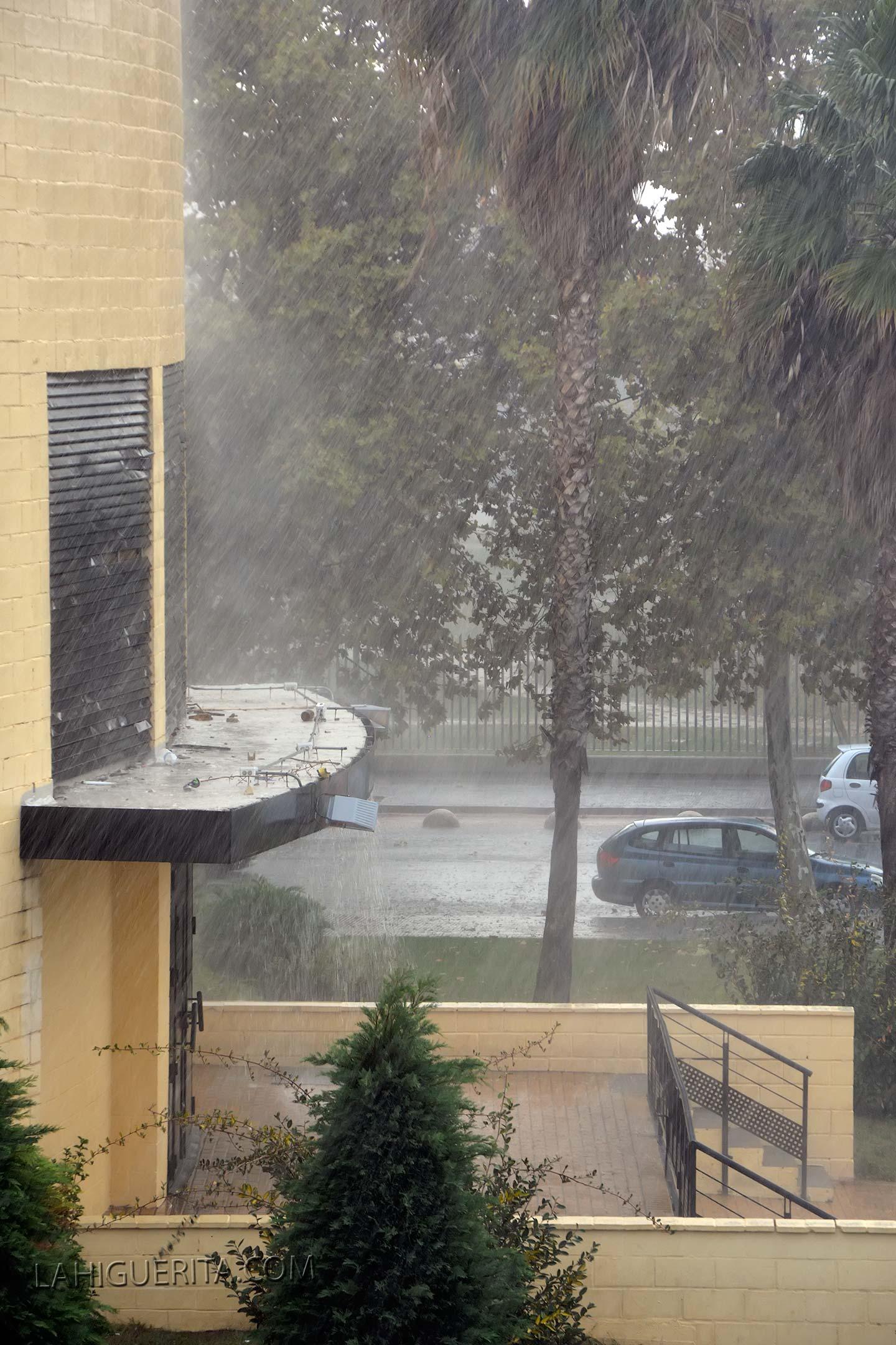 La lluvias y el fuerte viento mantienen en alerta a la provincia todo el fin de semana