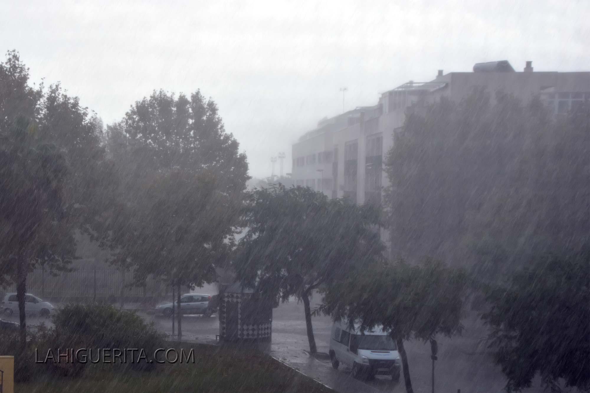 Isla Cristina fue uno de los municipios más afectados por las lluvias