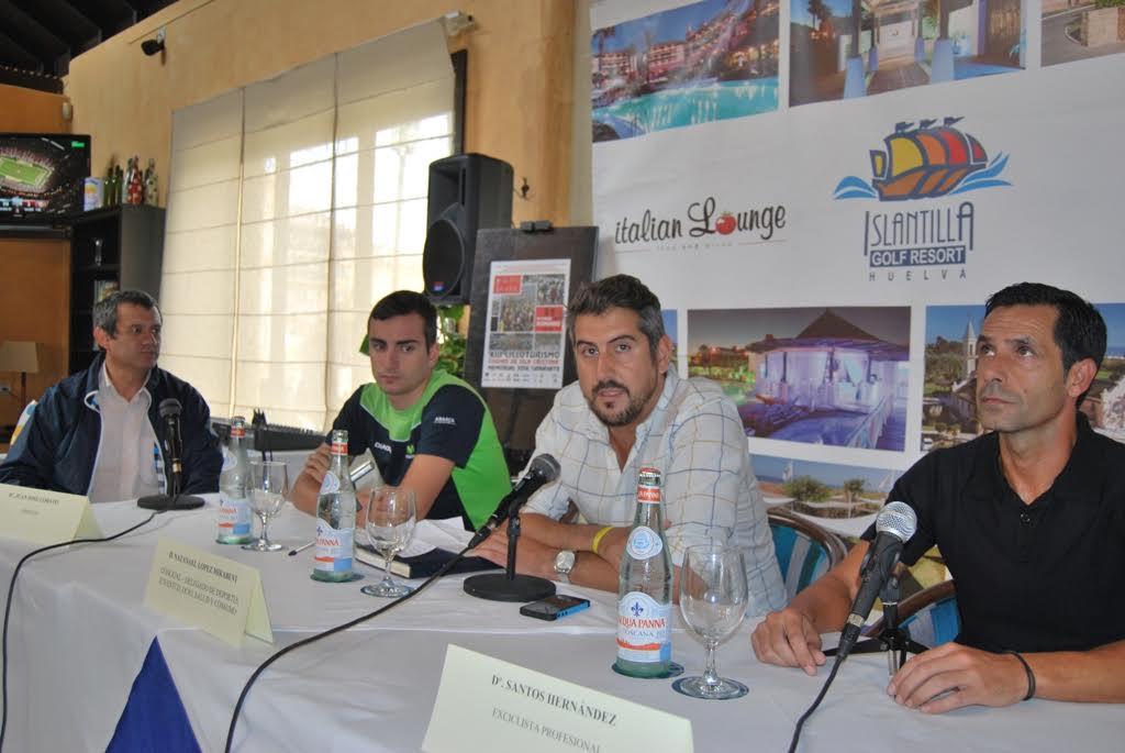 Presentada la Ruta Cicloturista de Isla Cristina que recorrerá las carreteras del sur de la provincia este domingo