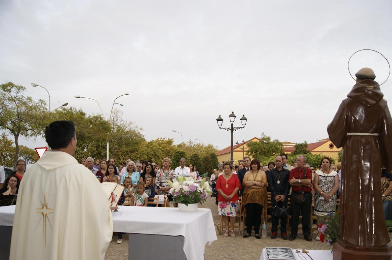 Celebrada la Misa en Honor a San Francisco de Asís en Isla Cristina