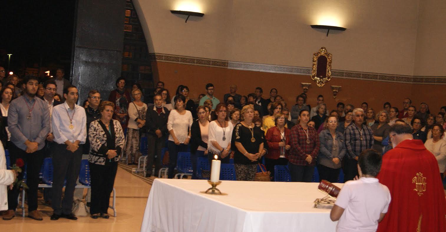 Misa en Honor a San Judas Tadeo en Isla Cristina