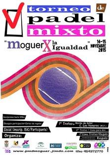 V Torneo de Pádel Mixto Moguer X la Igualdad