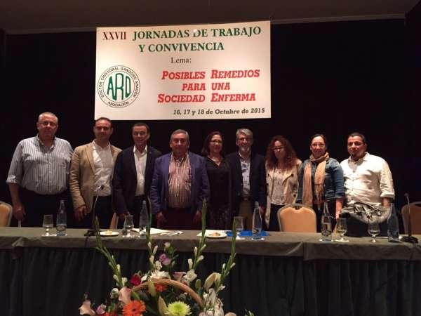La Diputación de Huelva destaca el trabajo de ARO en el tratamiento y prevención del consumo de sustancias tóxicas
