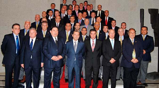 Reunión de todos los presidentes arbitrales de España en Punta Umbría