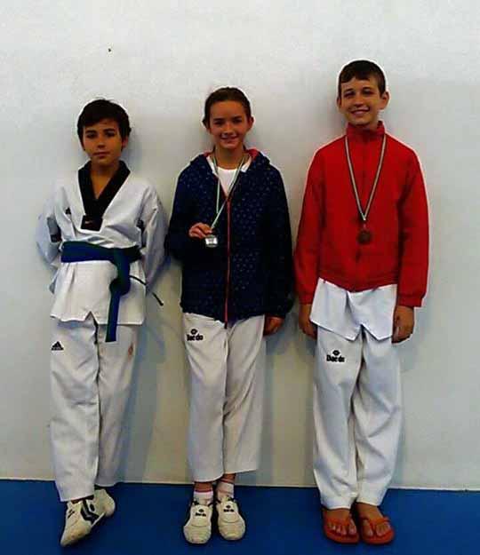 Los onubenses suman en Lepe 6 metales en la Copa Federación Andaluza de Taekwondo