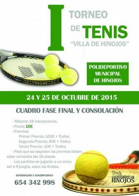 I Torneo de Tenis Villa de Hinojos