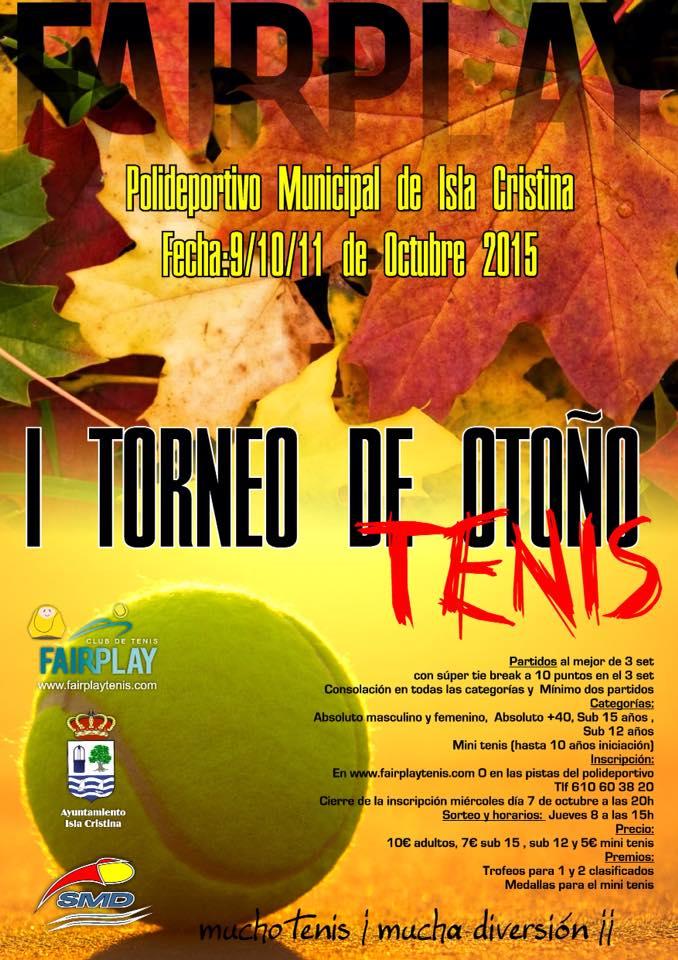Isla Cristina Acoge el I Torneo de Otoño de Tenis