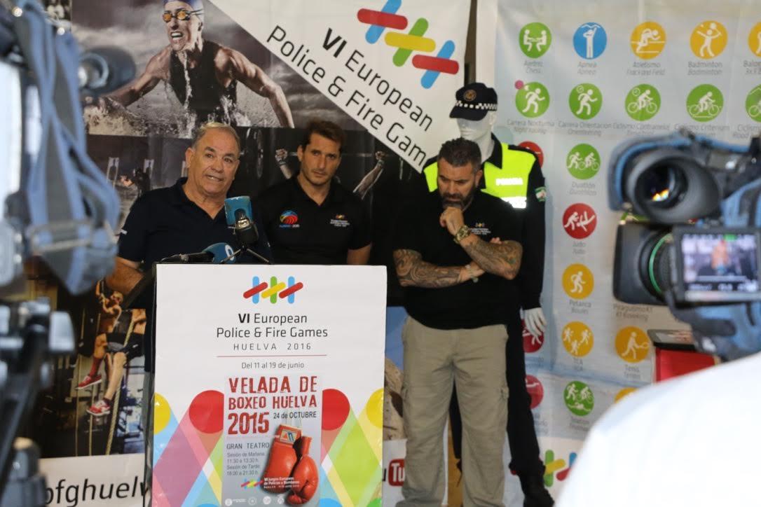 Agotadas las entradas para la velada de boxeo que organiza Huelva 2016 en el Gran Teatro
