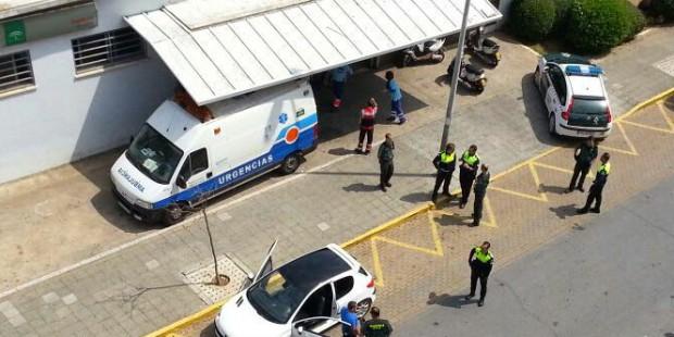 Denuncian el presunto sabotaje a la ambulancia de Isla Cristina