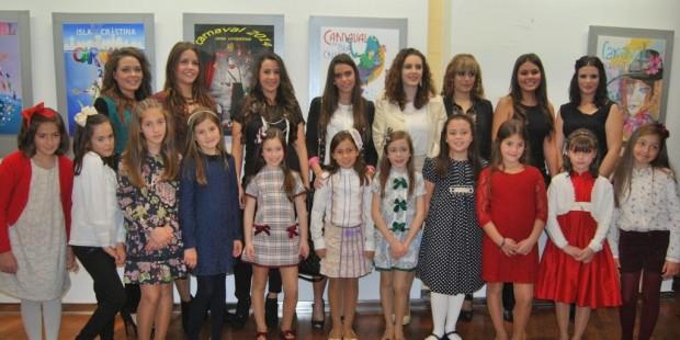 Sorteo de candidatas para damas de honor del Carnaval de Isla Cristina 2016
