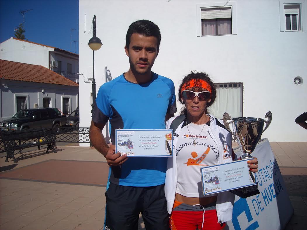 Imad Barhoun y María Belmonte Ganan la XXII Carrera Popular El Granado