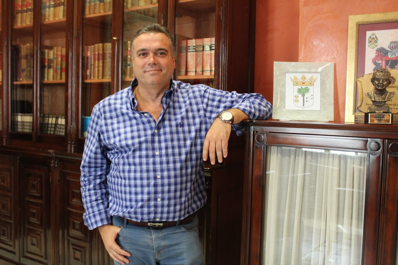 El Alcalde de La Palma Manuel García, Vicepresidente de Deportes de la FEMP