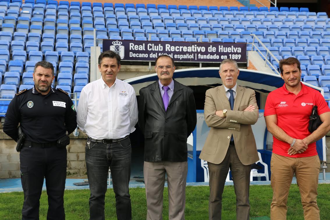 Huelva 2016 y Recre acuerdan el uso del Estadio Colombino para la final del fútbol 11 en los juegos europeos