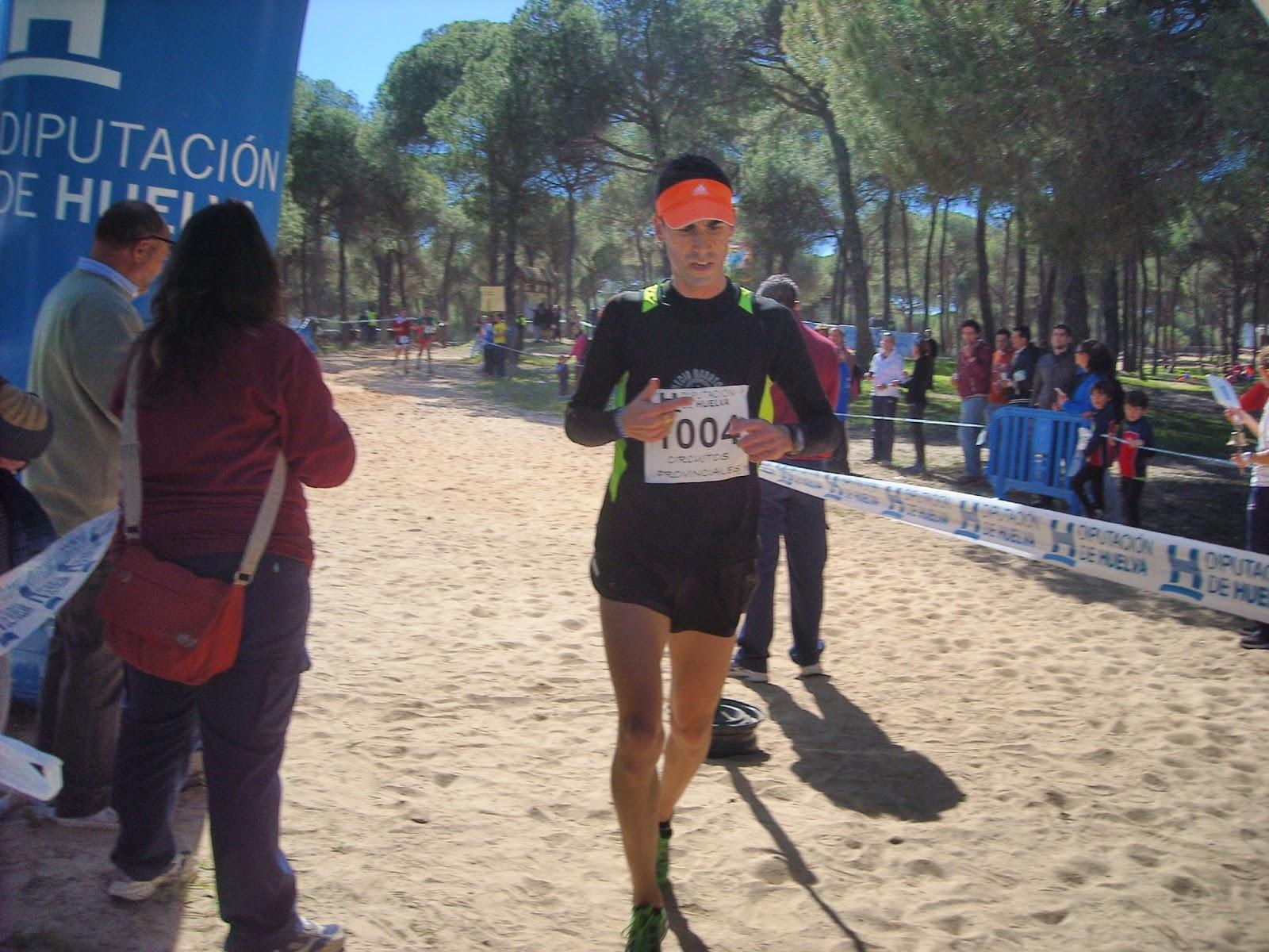 Adrián Andivia y Carolina Ponce Campeones del Circuito de Gran Fondo Diputación Huelva