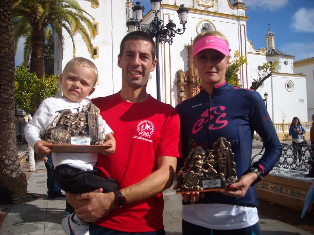 Alberto Millán y Dochia Rus Ganan la Carrera del Centenario La Palma C.F.