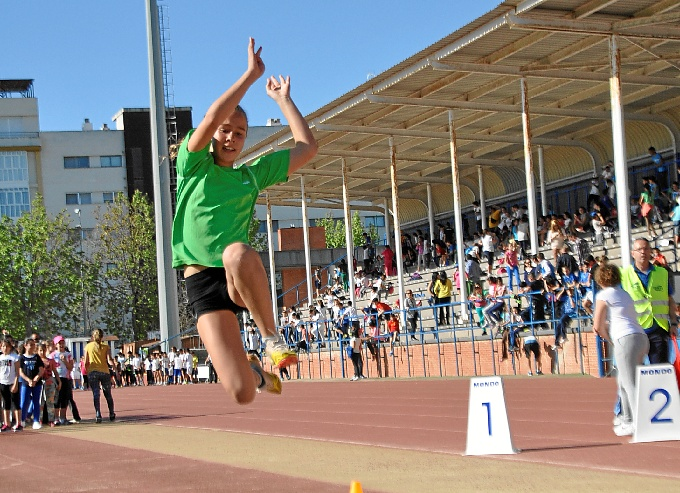 Exitosa Jornada de Atletismo en Isla Cristina