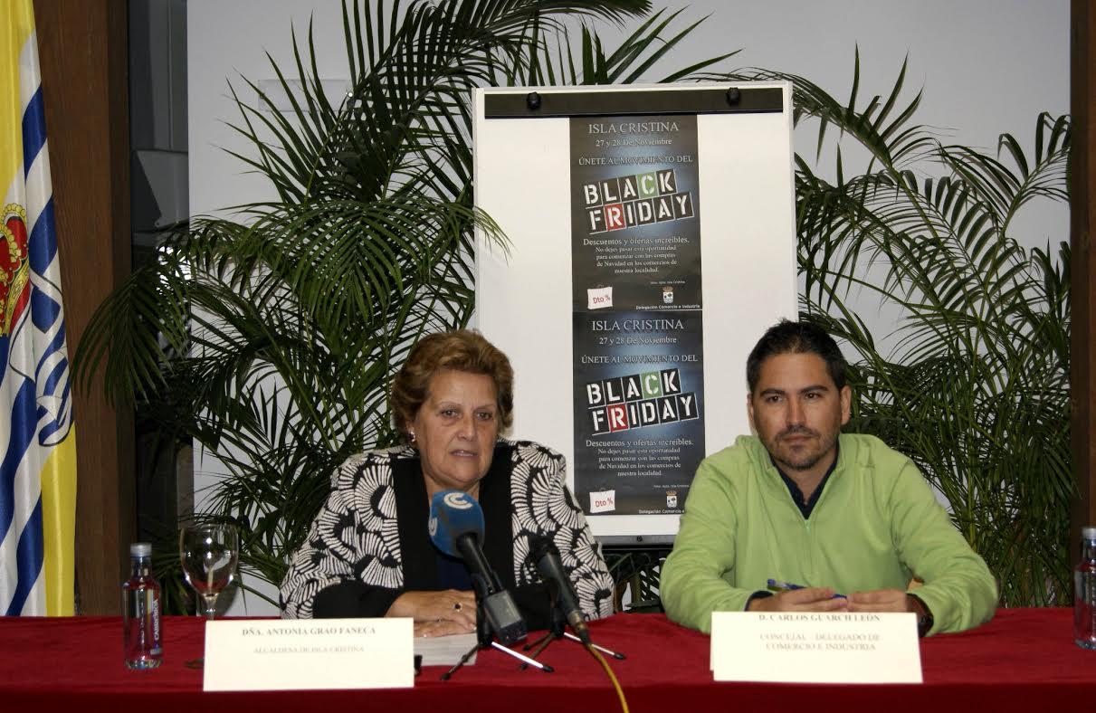 Isla Cristina se suma al Black Friday