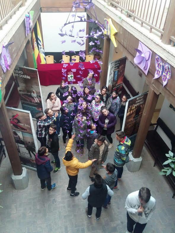 Los escolares isleños, contra la Violencia de Género