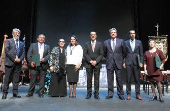 Isla Cristina presente en la entrega de las Medallas de la Provincia