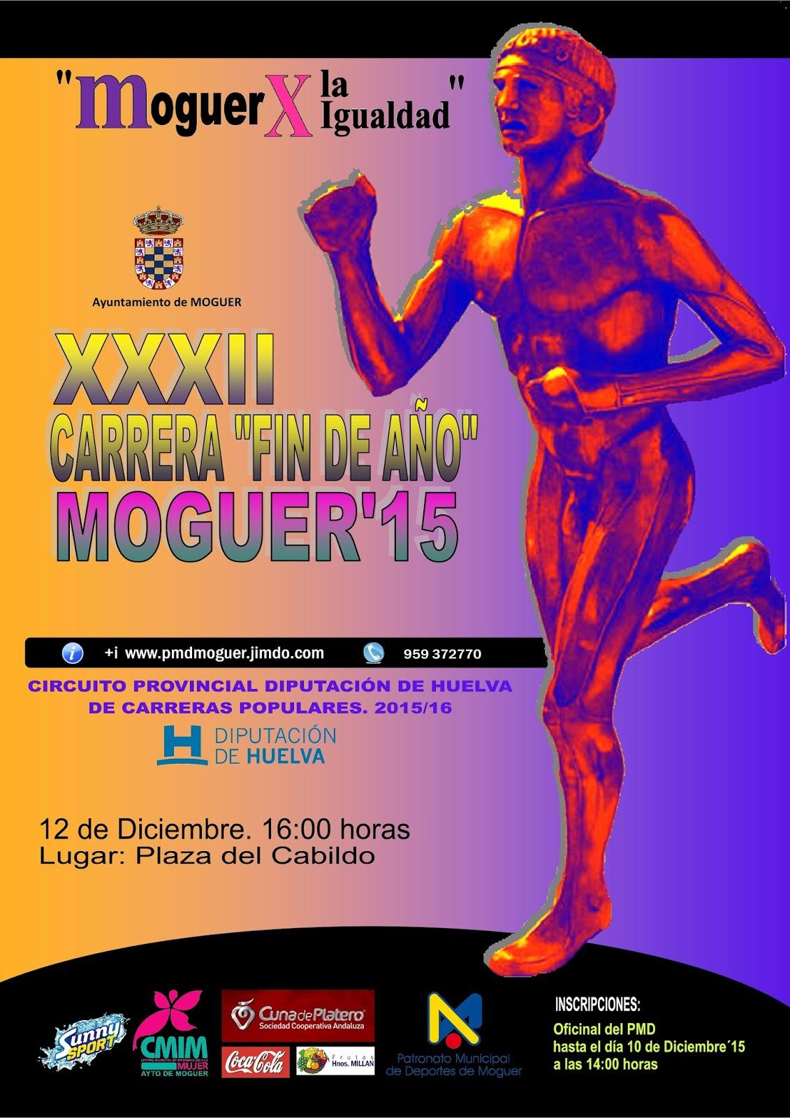 Moguer Celebra la XXXII Carrera Fin de Año