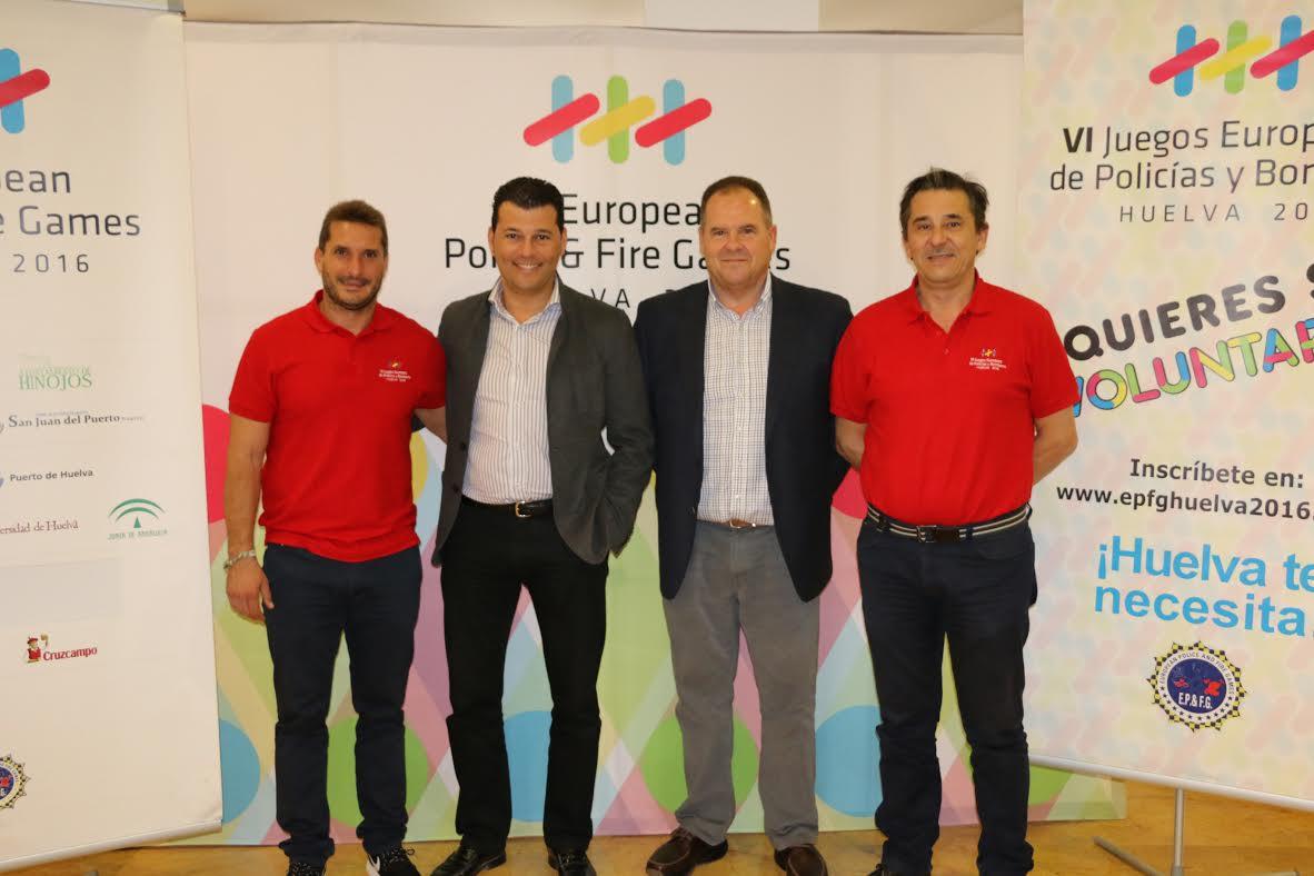 Cruzcampo se suma al reto de los VI juegos europeos de Policía y Bomberos Huelva 2016