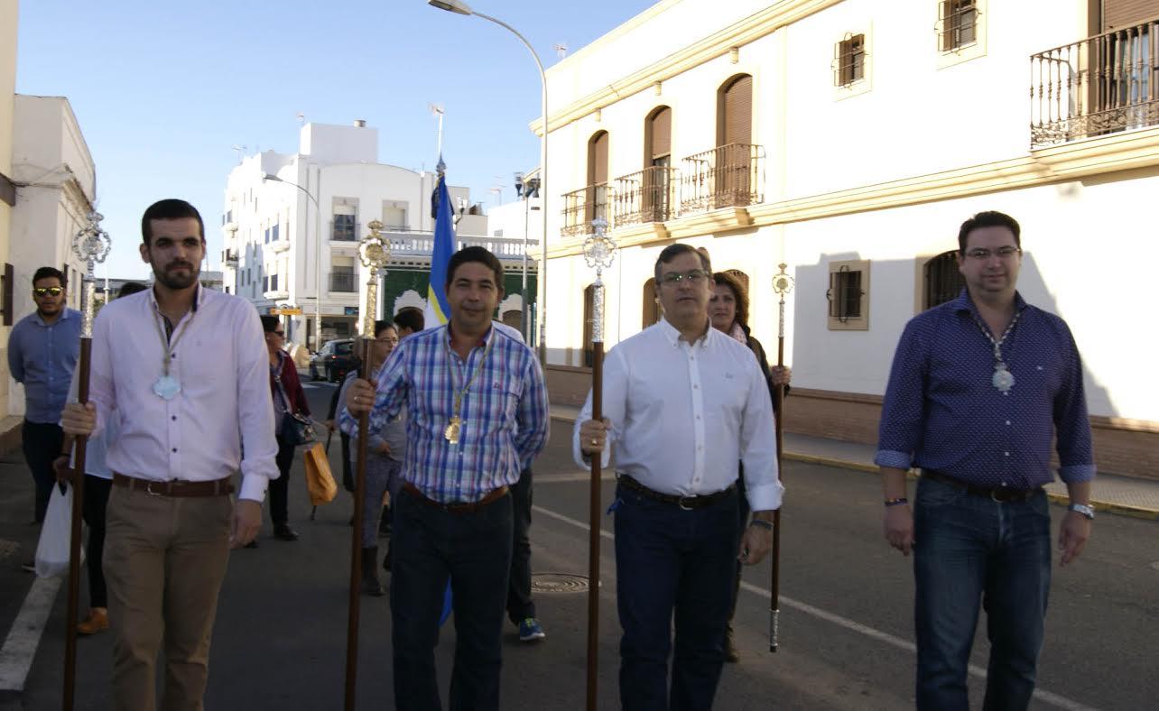 V Peregrinación de la Hermandad de Nuestra Señora de la Bella de Isla Cristina al Terrón