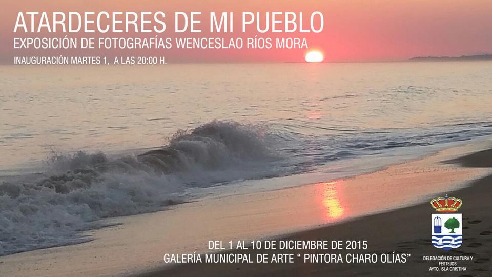 Exposición fotográfica del isleño Wenceslao Ríos Mora.