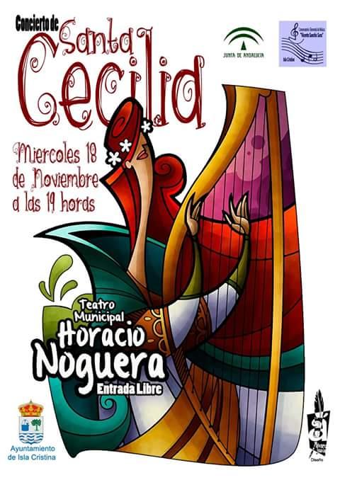 Festividad de Santa Cecilia en el Conservatorio de Isla Cristina